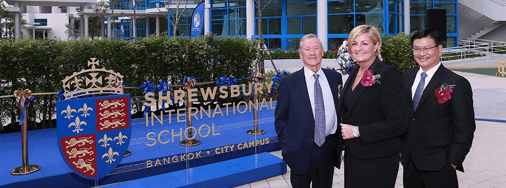 Dennison - Principal of Shrewsbury International School Bangkok - City Campus - Dr. Parita Suaphan - Brian Davidson