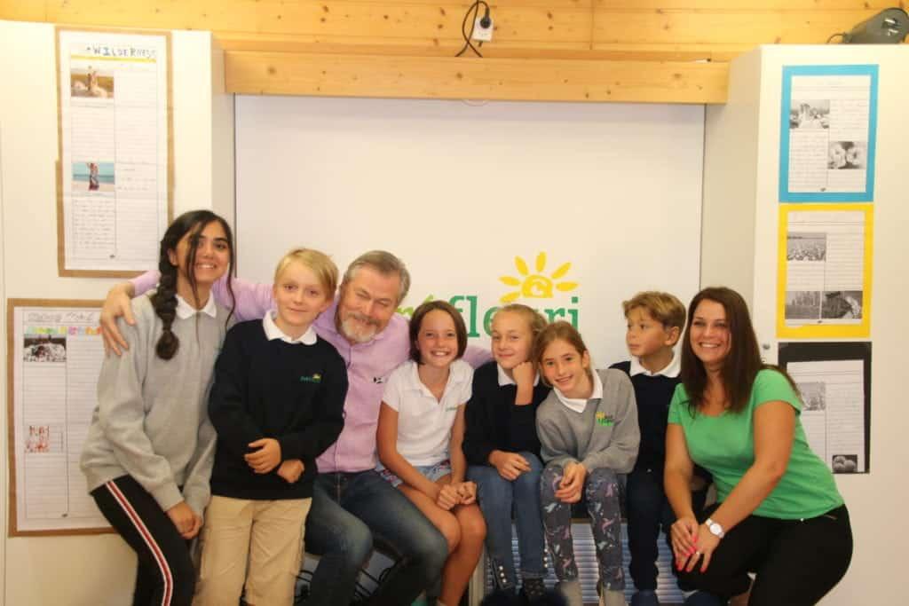 Gunter Pauli - prefleuri international alpin school