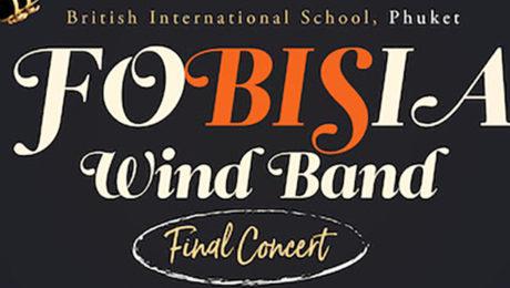 fobisia wind band festival Phuket music British International School, Phuket