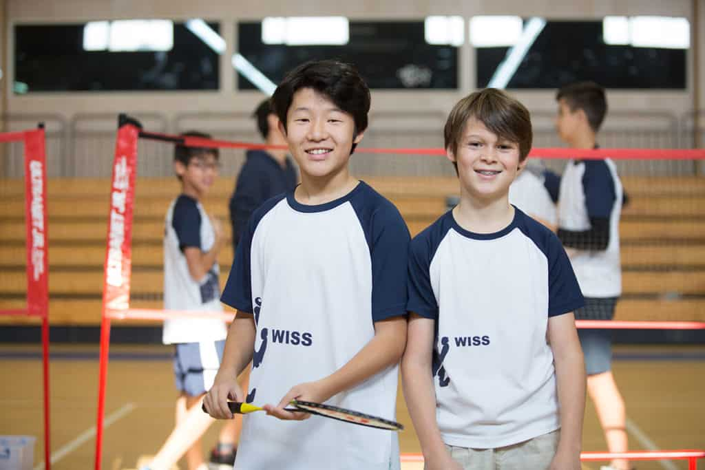 Students at WISS learn to play sports, but also learn teamwork, leadership, and sportsmanship