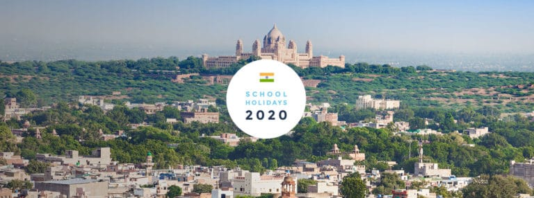 School Holidays in India in 2020