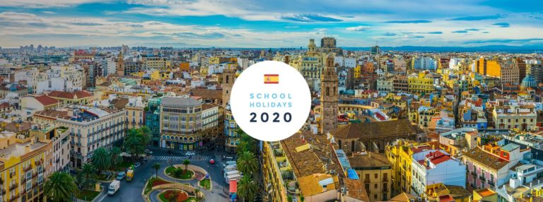 School Holidays in Spain in 2020