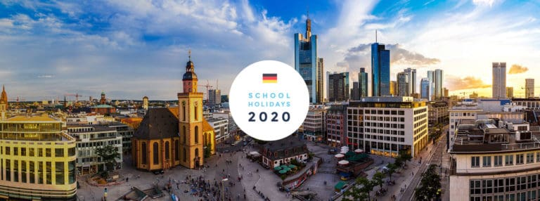 School Holidays in Germany in 2020