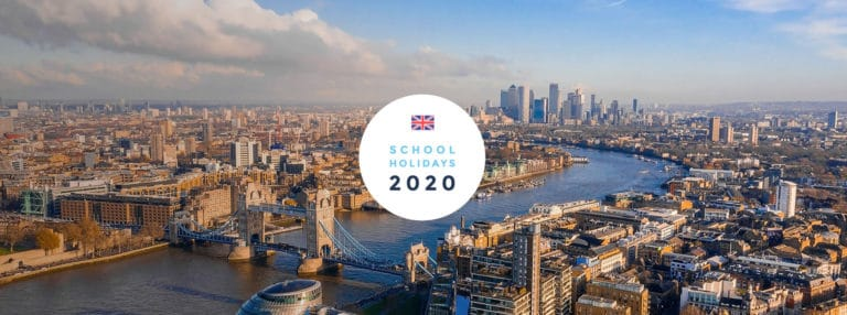 School Holidays in the UK in 2020