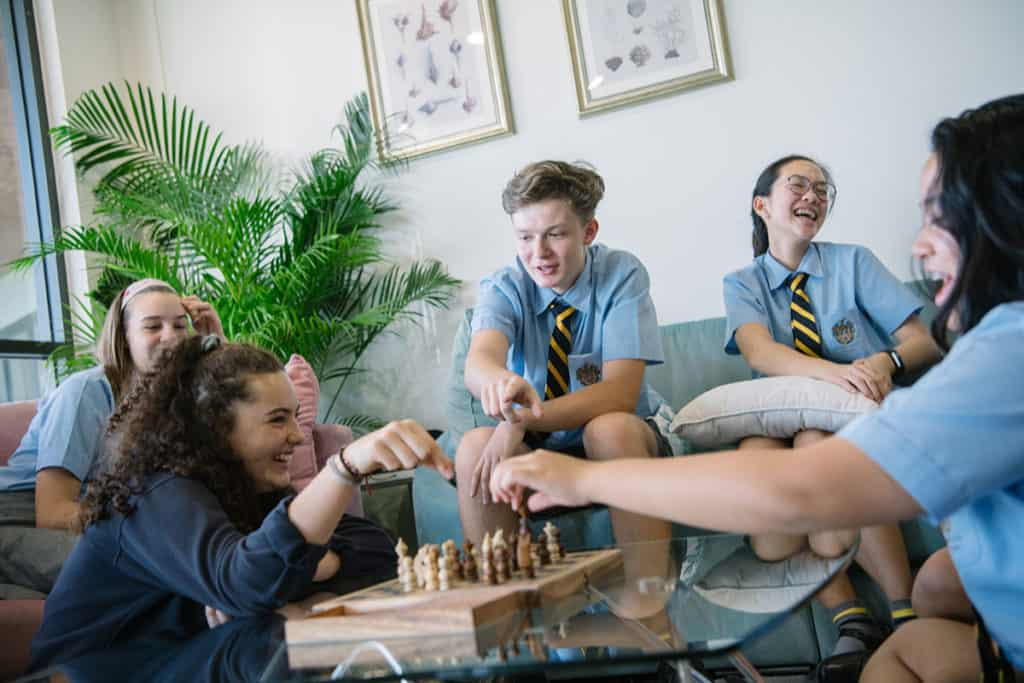 Students build deep friendships at boarding school