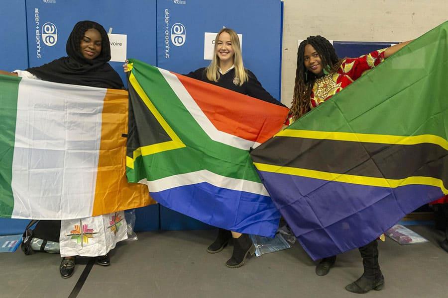 International Week Parade of Flags