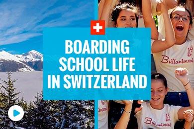 Vida em internato na Suíça