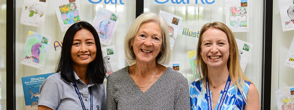 Author/Illustrator Gail Clark Visits RIS!