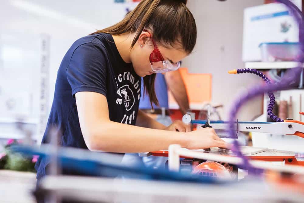 International schools use technology to improve education.