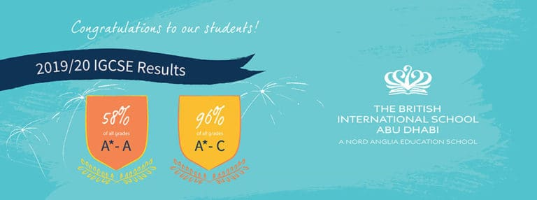 Students At BIS Abu Dhabi Celebrate Great Success With IGCSE Results