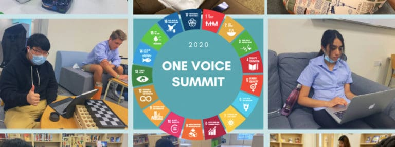 Inspiring Global Citizens at the One Voice Summit