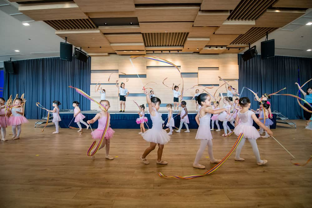 Ballet class at Rugby School Thailand