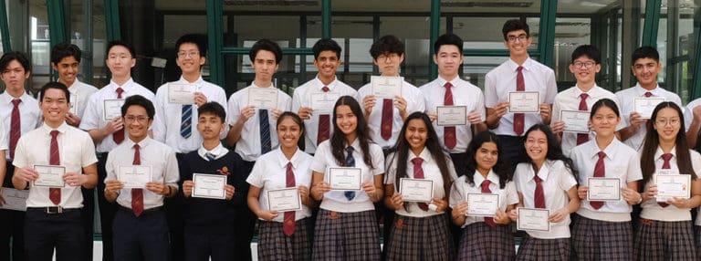 JIS students participate in Senior Maths Challenge