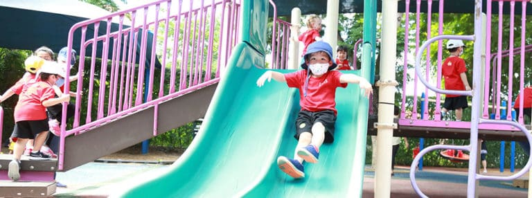 ISB's New Early Childhood Playground Inspires the Imagination
