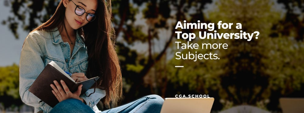 Aiming for a Top University? Take More Subjects