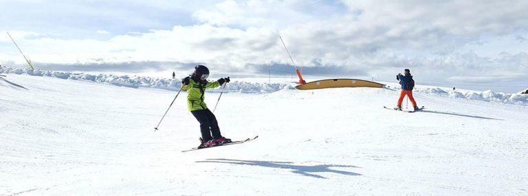 Sports lessons hit the slopes at Préfleuri!