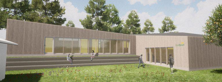 Préfleuri announces the progress on their new building