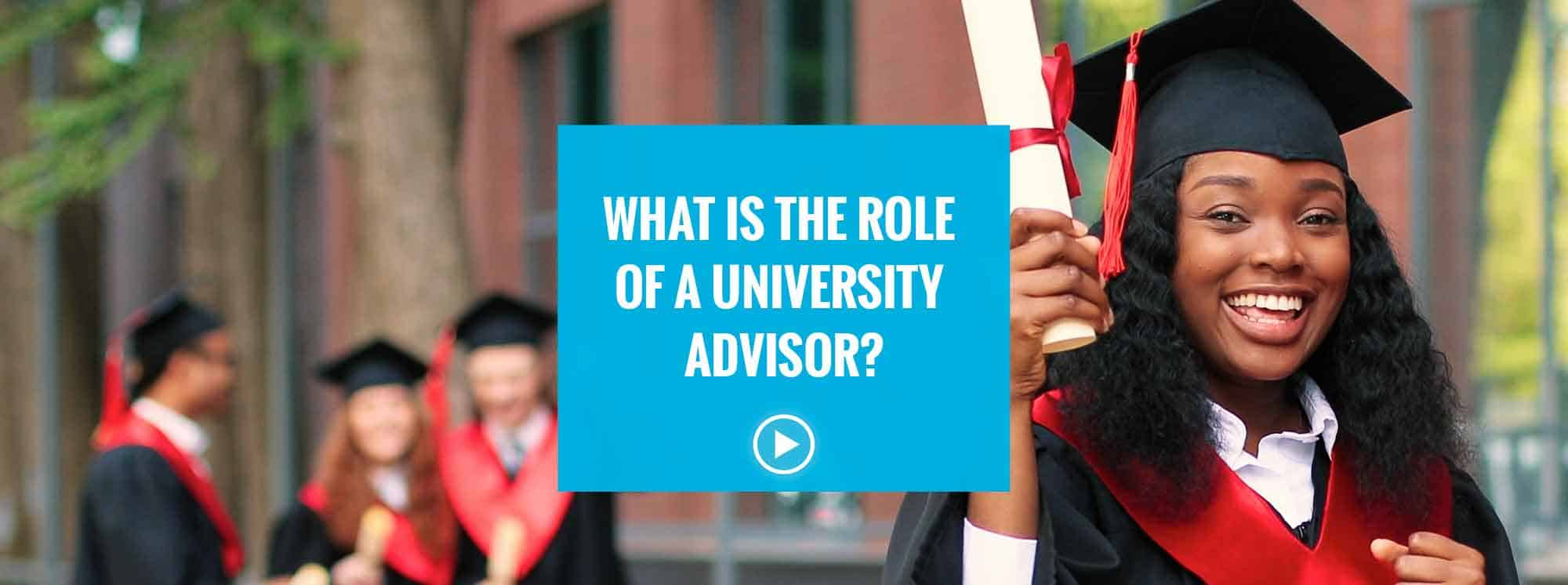 How a University Advisor helps your child secure a place at University