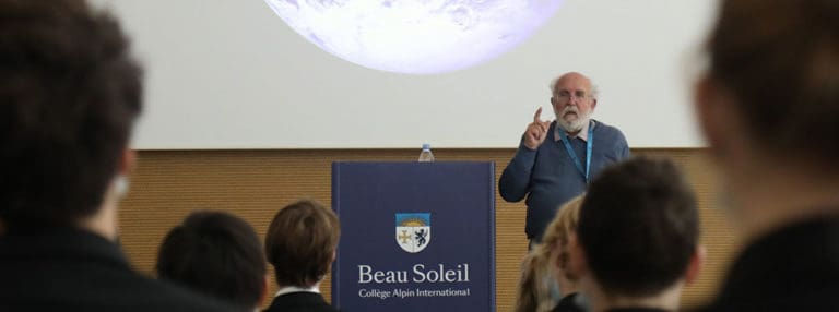 Beau Soleil welcomes Nobel Laureate, Michel Mayor