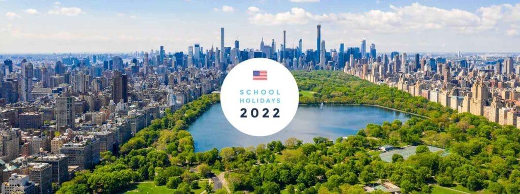 School Holidays USA 2022